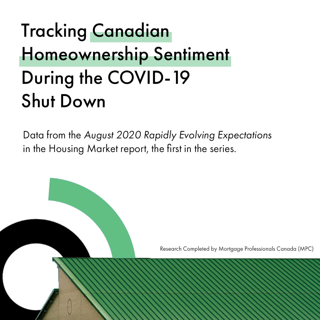Tracking Canadian Homeownership Sentiment During the COVID-19 Shut Down