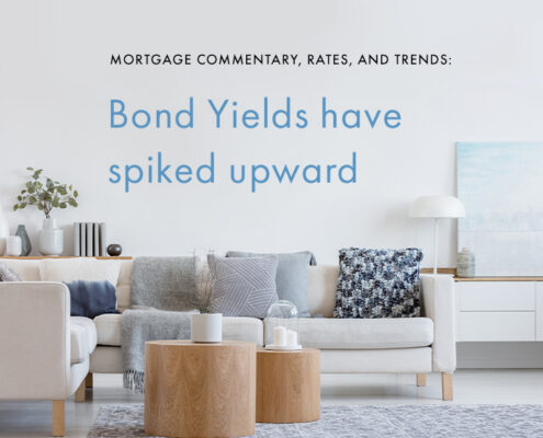 Mortgage Trends Canada Bond Yields Have Spiked Upward